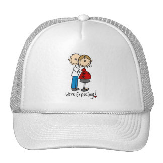 Couple We're Expecting T-shirts and Gifts Hats