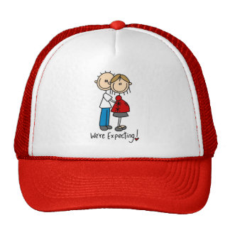 Couple We're Expecting T-shirts and Gifts Trucker Hats