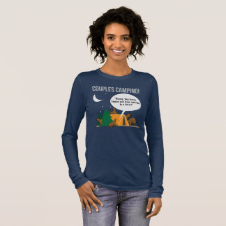 Couples Camping Funny Camper T-shirt