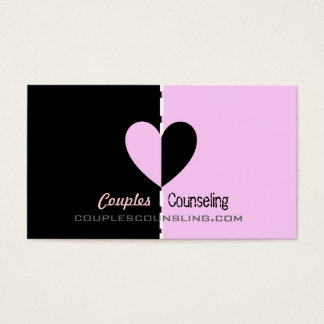Couples Counseling Business Cards