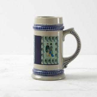 Couples japonais de mariage - jour du mariage, tas mug à café