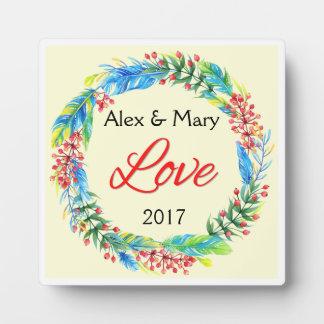 Couple's Love Plaque