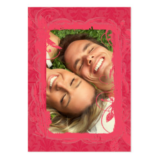 Couples Photo Cards Pack Of Chubby Business Cards