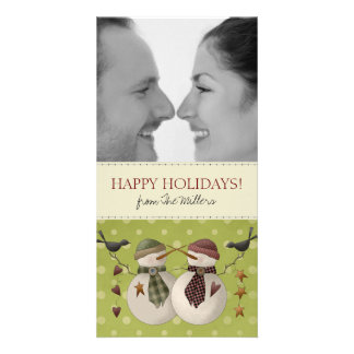 Couples Photo Christmas Cards Personalized Photo Card