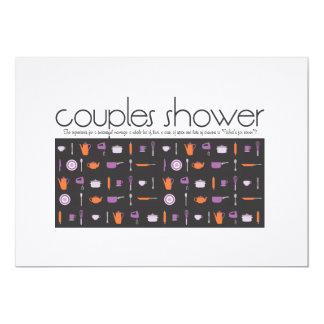 Couples Shower Invitation - Kitchen