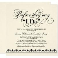 Coupleu0027s Wedding Shower Invitation | Wedding Vows