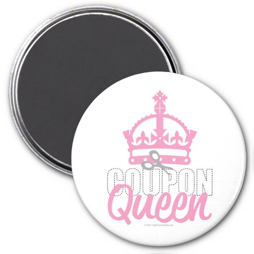 Coupon Queen Refrigerator Magnets