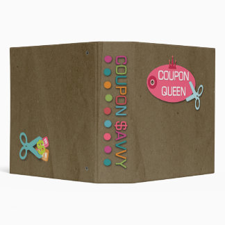 Coupon savvy queen fun 2 inch avery binder