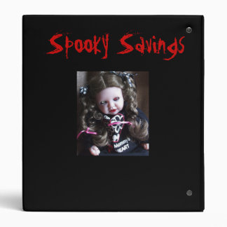 Coupon Spooky Scary Couponing Binder
