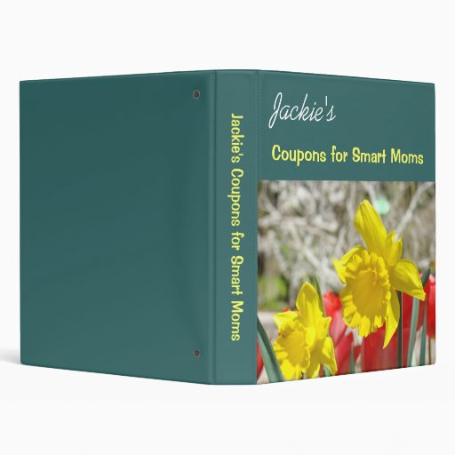 Coupons for Smart Moms binder Spring Personalized