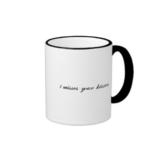 coups manqués i vos baisers mug ringer