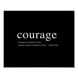 "Courage - 8""x10"" Art Print"