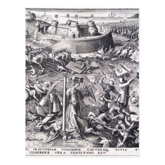Courage by Pieter Bruegel the Elder Postcard