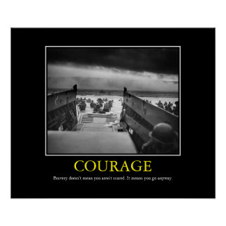 Courage -- D Day Print