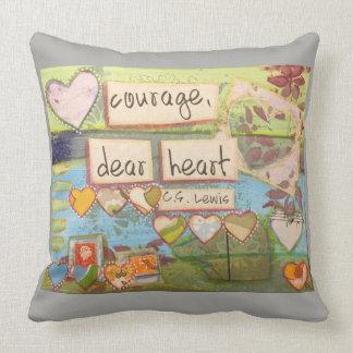 courage, dear heart pillow