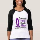 Courage Faith Strength Hope Sarcoidosis T-Shirt