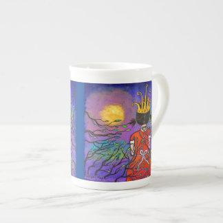 Courage Girl Wearing Crown Mug