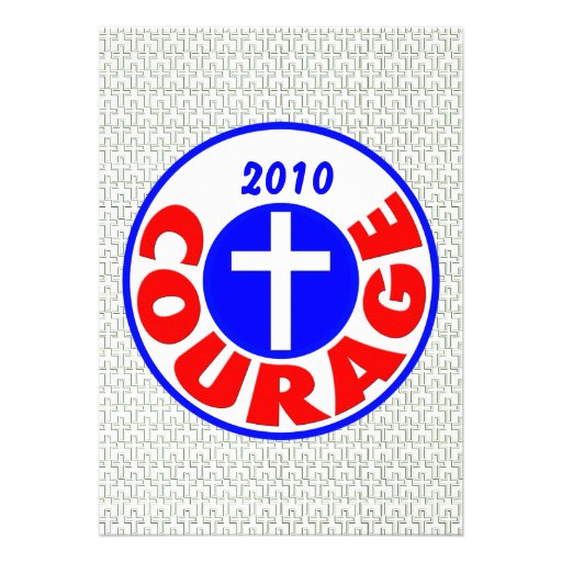 Courage Custom Invitations