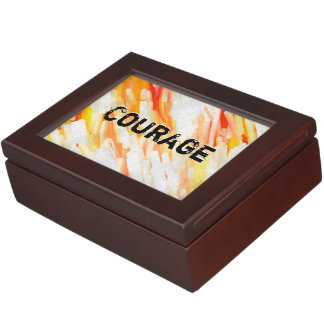 Courage Lm Keepsake Box