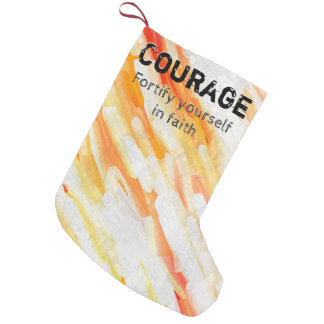 Courage Lm Small Christmas Stocking