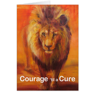 Courage 'til a Cure Note Card