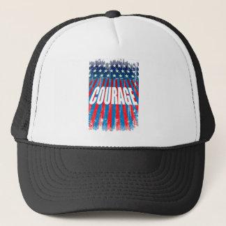 courage trucker hat