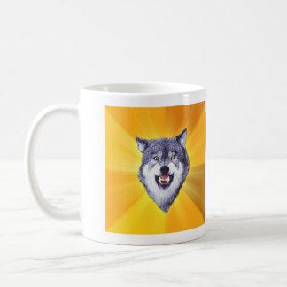 Courage Wolf Coffee Mug