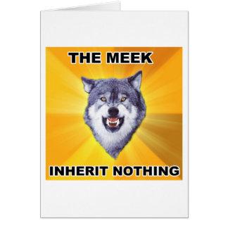 Courage Wolf Meek Inheritance Card