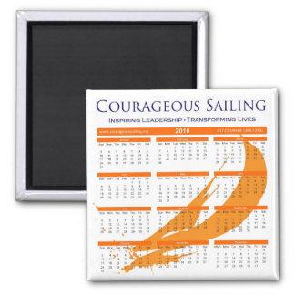 Courageous Calendar Magnet