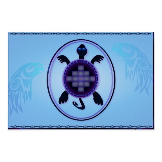 Courageous Turtle Yardsign Poster