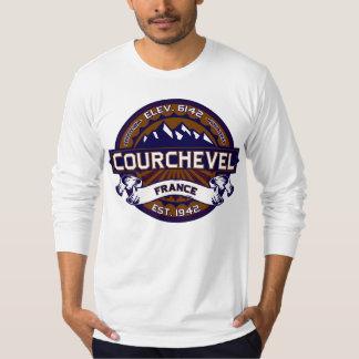 Courchevel France Vibrant T-Shirt