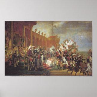 Couronnement de Bonaparte Affiche