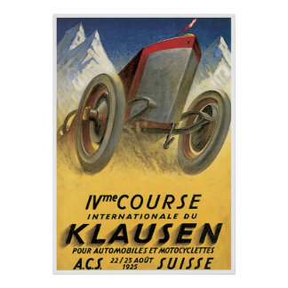 Cours Klausen Posters