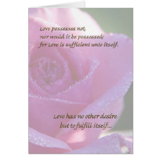 Course of Love 4 Card