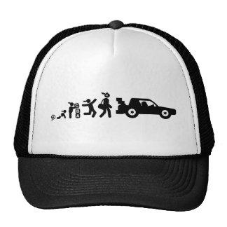 Courses d'automobiles casquettes