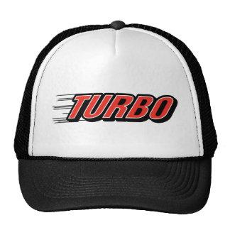 Courses d'automobiles de course de ~ de Turbo Casquettes De Camionneur