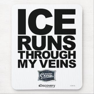 Courses de glace Mousepad Tapis De Souris
