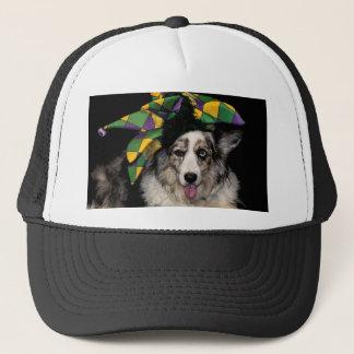 Court Jester Cardigan Trucker Hat