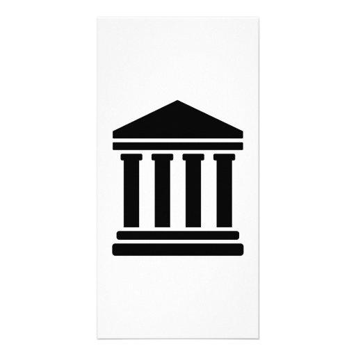 Court justice symbol photo cards