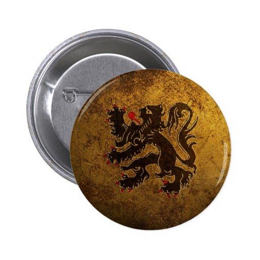 COURT OF ARMS BELGIUM PINS