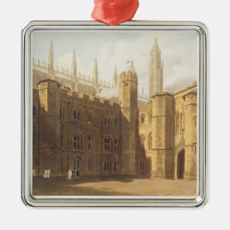 Court of King's College, Cambridge, from 'The Hist Metal Ornament
