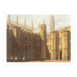 Court of King's College, Cambridge, from 'The Hist Postcard