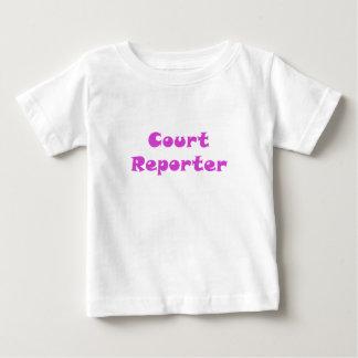 Court Reporter Baby T-Shirt