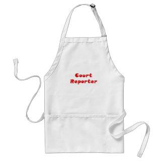 Court Reporter Standard Apron