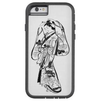 Courtesan Placing a Hairpin in Her Hair Tough Xtreme iPhone 6 Case