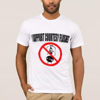 Courtesy Flushes T-Shirt