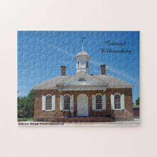 Courthouse Colonial Williamsburg Puzzles