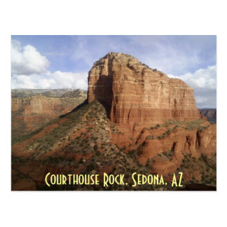 Courthouse Rock Postcard