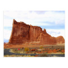 Courthouse Towers, Arches National Park, Utah Postcard