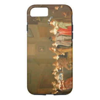 Courting Scene, 1644 (oil on canvas) iPhone 7 Case